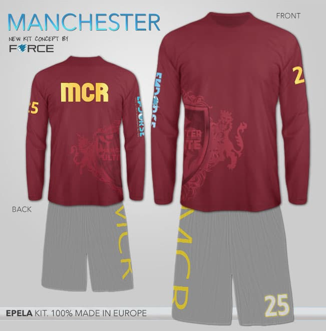long sleeved jersey manchester