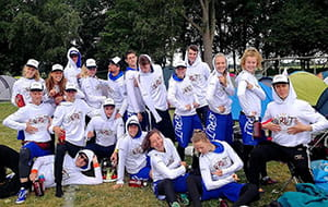 grut team in white sun hoodies