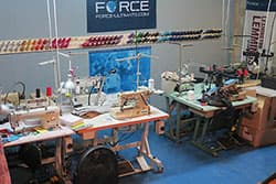 sewing machines in force workshop